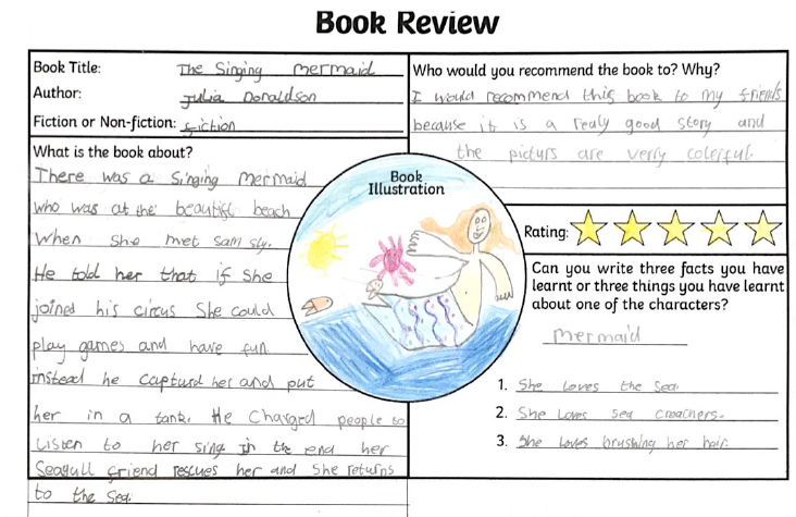 Darcy's book review.