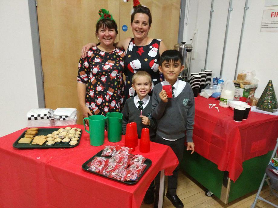 Our PTA Christmas bazaar