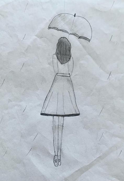 Ananya's sketch work