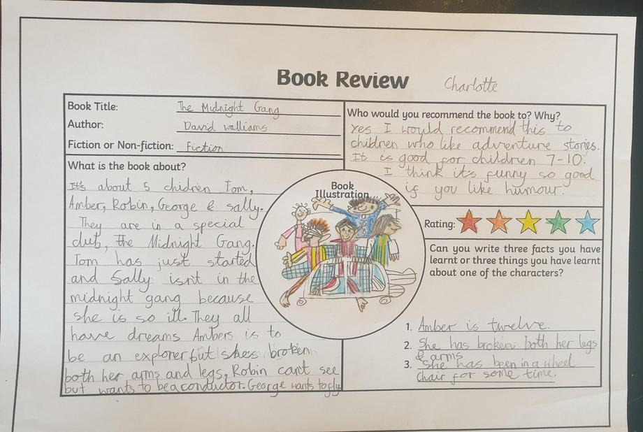 Charlotte's book review.