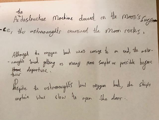 Maksim's complex sentences