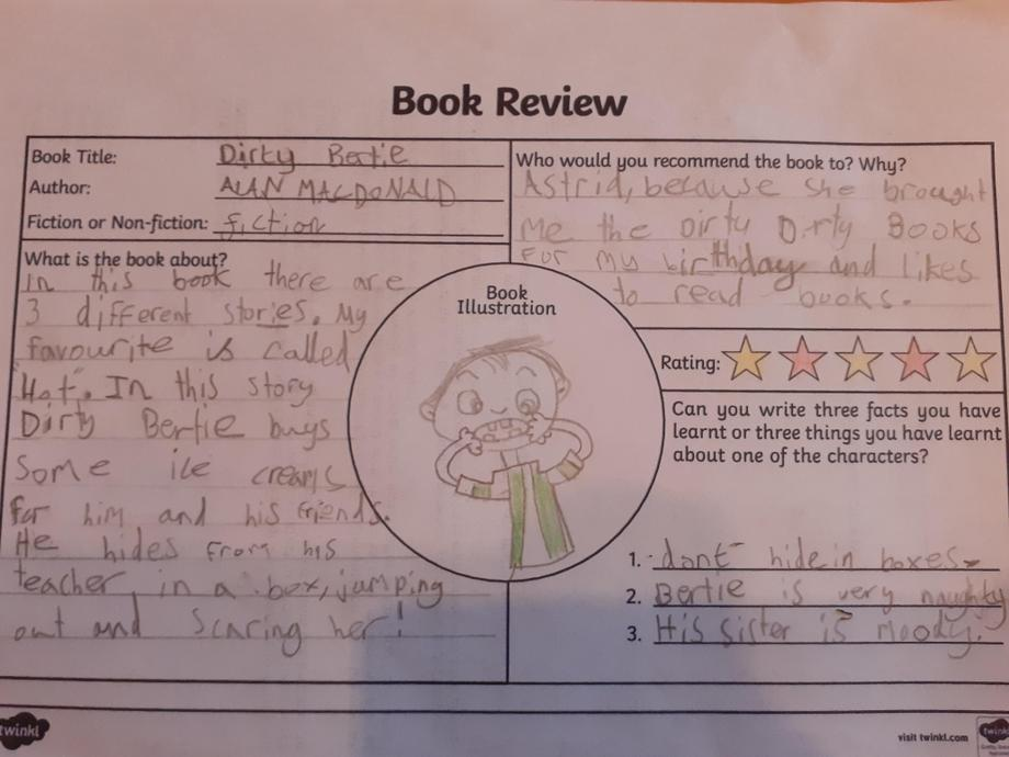 Jude's book review.