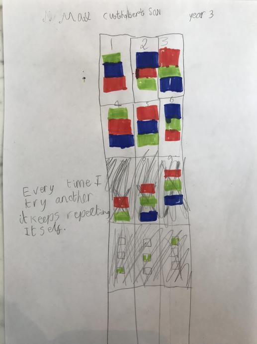 Max's amazing Math's work!