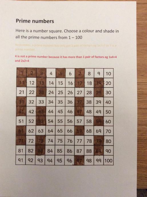 Charlie's maths challenge