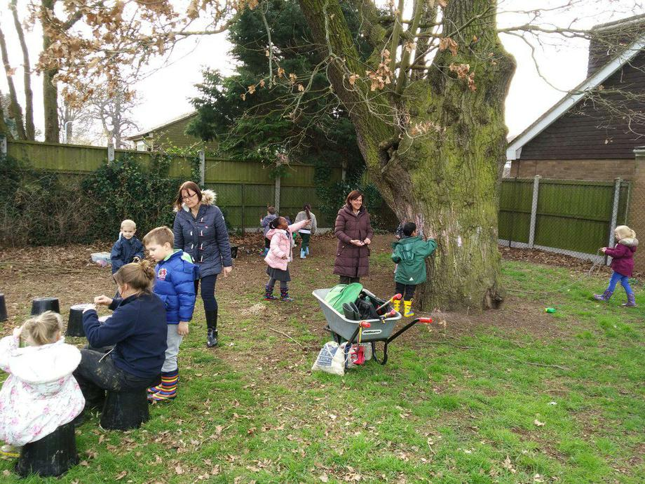 Using our school grounds to help us learn