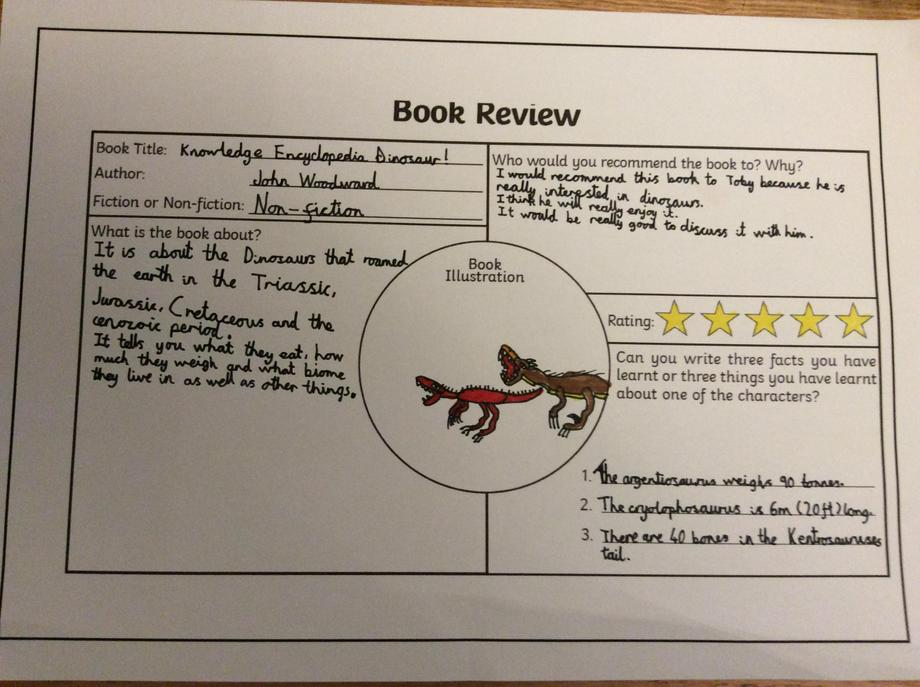 Charlie's book review.