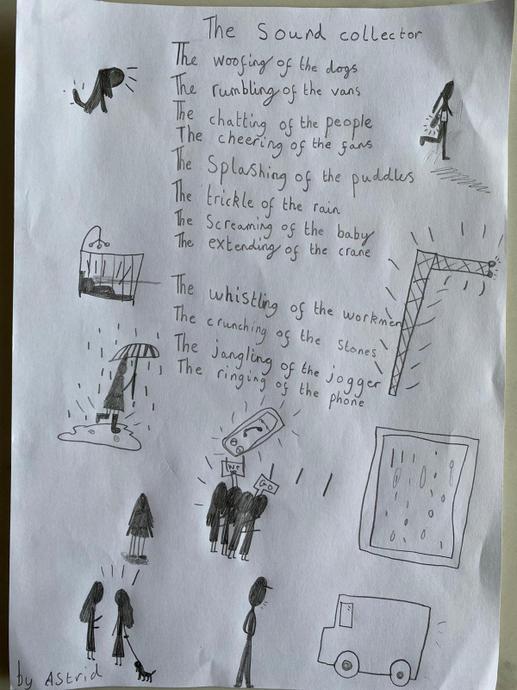 Astrid's amazing Sound Collector poem