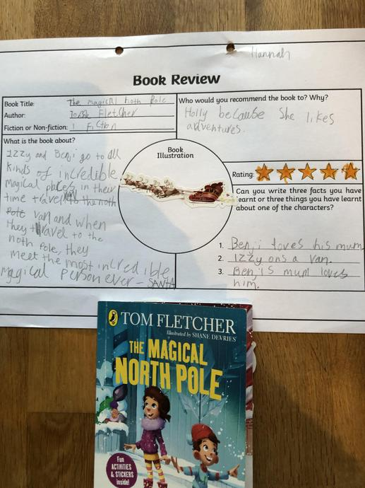 Hannah's book review.