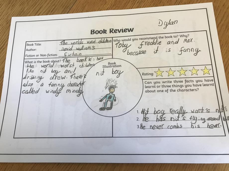 Dylan's book review.
