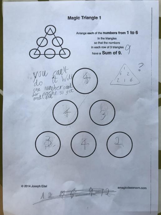 Max's Maths challenge!