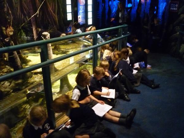 18 - Children completing quiz