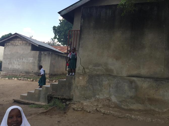 The school toilets.
