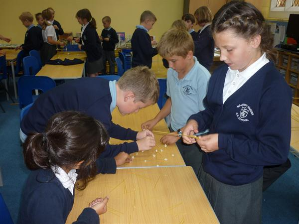 Working together in teams!