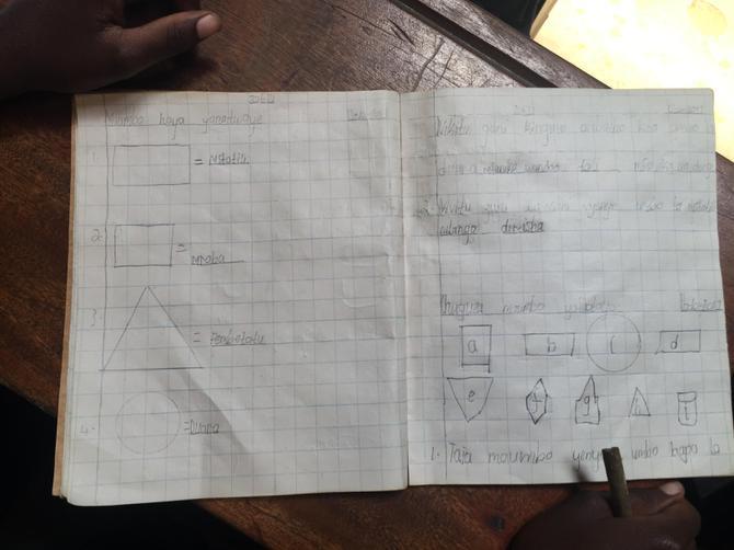 Maths book from standard 2