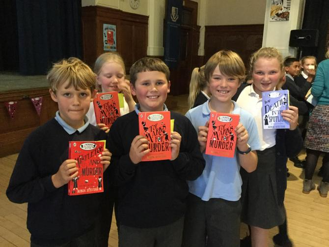 Y5 bought books...