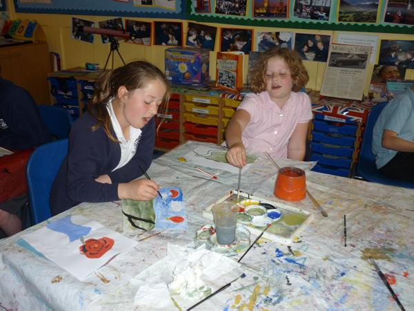 Creating Hockney inspired art
