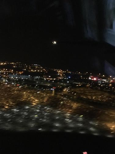 Birmingham at night...