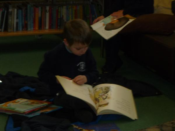 Our Library Visit, Spring 2015
