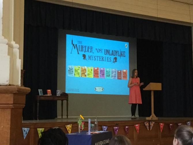 Robin told us about how she became an author...