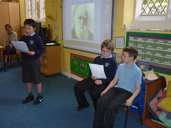 Charles Darwin - A short history!