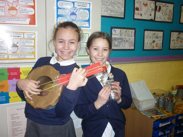 Making our instruments in class