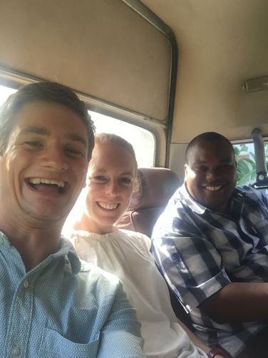 In a dala dala with Mr Ntulwe