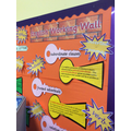 English Working Wall
