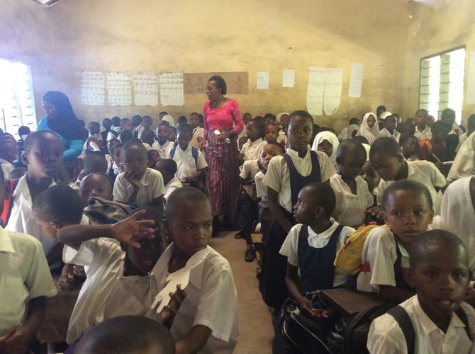 Classes can have more than 120 children in!