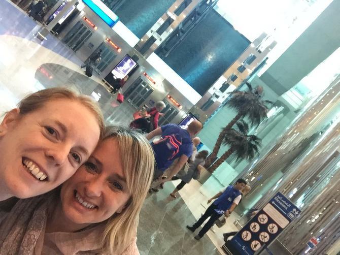 Dubai airport is amazing...