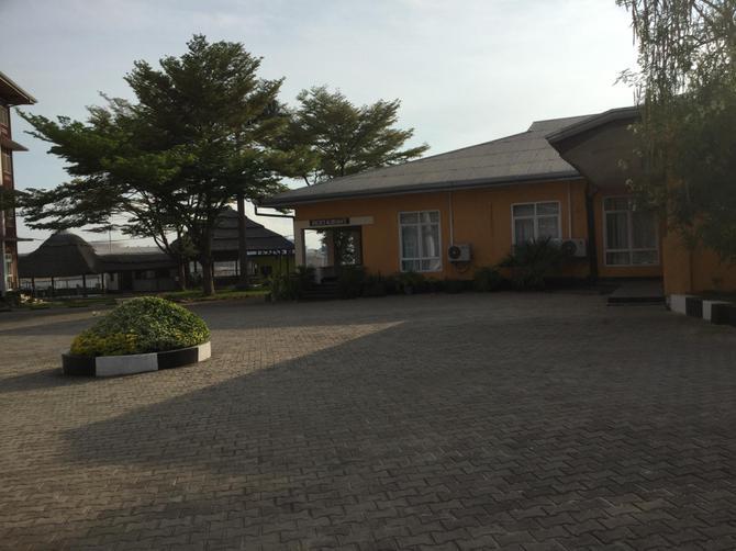 Last night's hostel in Dar Es Salaam