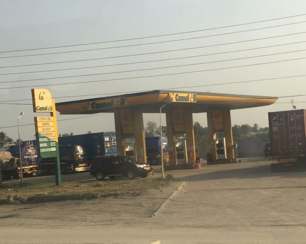 What is your local petrol station called?