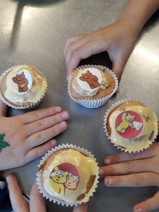 Children in Need buns