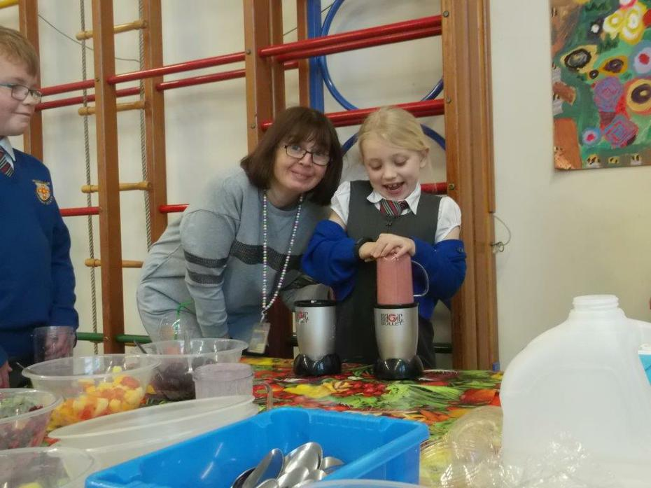 Miss Ranjbar loved our smoothies!