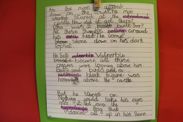 Writing from Year 3