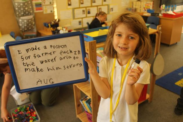 Writing challenges in Years 1 and 2