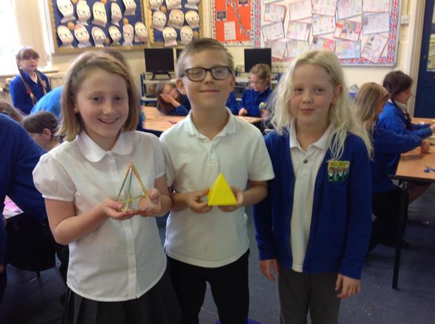 A square based pyramid