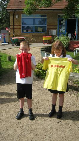 A lifeguard uniform