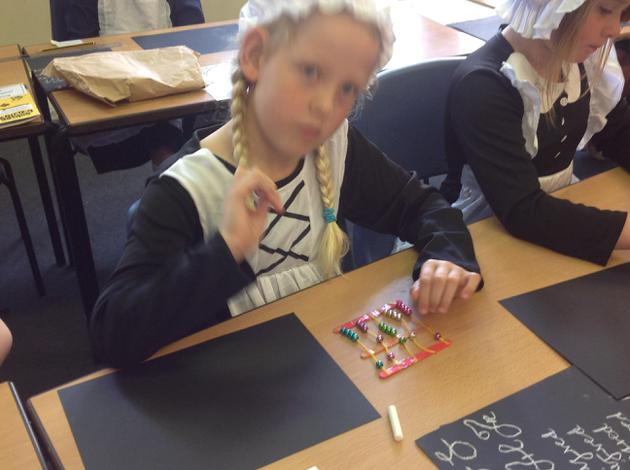Maths using our abacuses