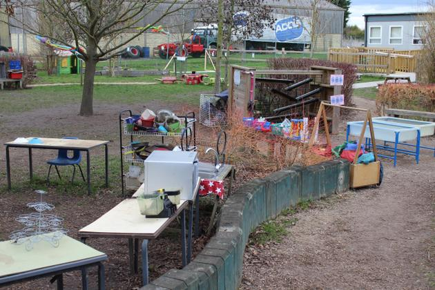 Year R and KS1 Outdoor Learning Environment