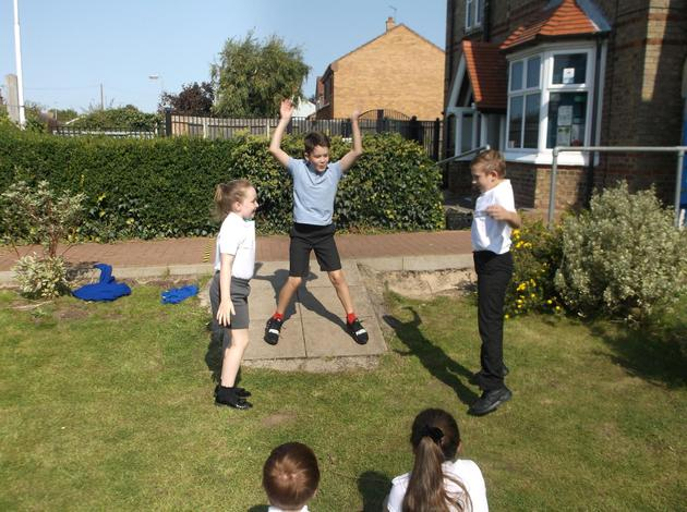 Year 6 outdoor learning
