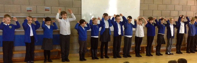 'Singing our Viking song'