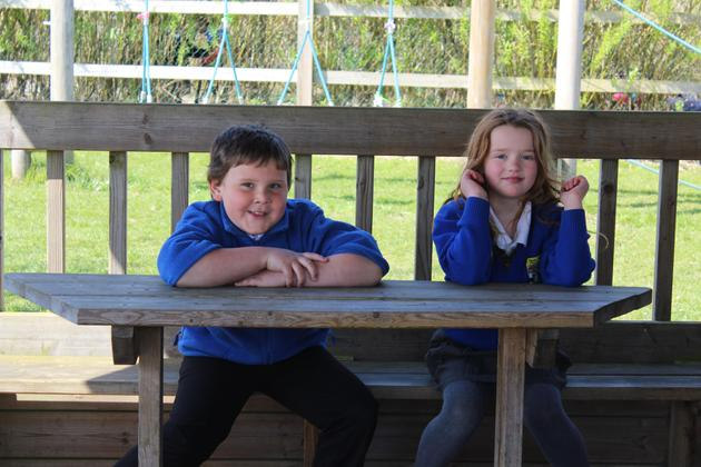Using the outside classroom