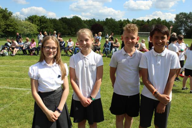 The Year 6 Sports Leaders ran the event