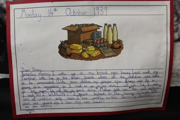 Writing from Year 5