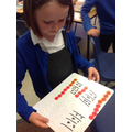 Using the place value counters