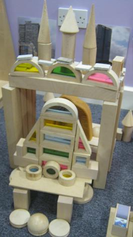 Other children built a bird house.