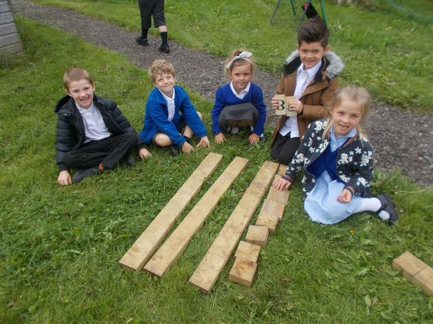 Year 2 outdoor learning