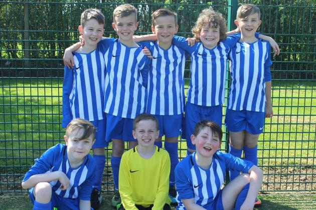 Years 3 and 4 football team