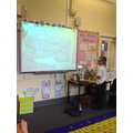 Using the visualiser to share our work