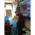 """I made an information leaflet."""